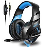 ONIKUMA Stereo Gaming Headset f�r PS4 Xbox One, Ger�uschunterdr�ckung Mic Over Ears Gaming Kopfh�rer mit Mikrofon f�r Nintendo Switch PlayStation 4 Laptop Smartphones und PC Bild