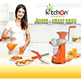 Kitchen Khajana™ Smart Fruit Juicer + Free Clever Cutter