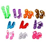Yiding Bobbi doll shoes ten pairs per pack by Yiding