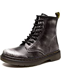 f1eba3c51832a9 JACKSHIBO Damen Herren Klassischer Stiefeletten Stiefel Boots Winter Warme  Gefüttert Winterstiefel Schneestiefel…