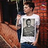 LuckyTshirt Maroon T shirt 5 Pop Music Adam Levine Los Angeles Red Pill Blues Music Fun - XL