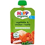 Légumes bio Hipp & poulet Risotto 7mois + (130g) -