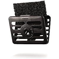 simplehuman - Filtro de plástico (2 unidades, función absorbe olores), color negro