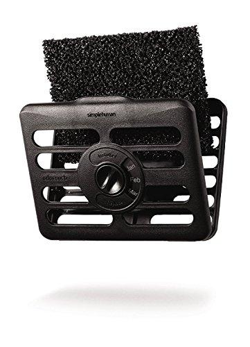 simplehuman odorsorb Filter Kit, Naturkohle, Plastik, Edelstahl, 2.7 x 12.1 x 9.6 cm (Kühlschrank-filter-kits)