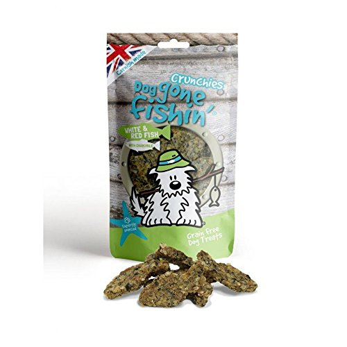 Dog Gone Fishin Fisch&Kamille Hunde Snacks (75gr) (kann variiren)