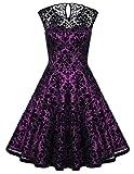 fashion kleid 50 jahre kleider rockabilly kleid damen festlich swing kleider M BP278-5