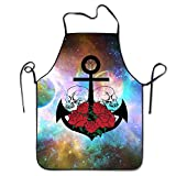 All Products : Anchor Skull Unisex Cooking Kitchen Aprons Chef Apron Bib