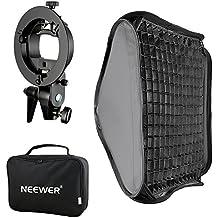 """'Neewer® 24""""x24/60x 60cm Bowens soporte de luz con rejilla y fijación soporte de flash para Nikon SB-600, SB-800, SB-900, SB-910, Canon 380EX, 430EX II, 550EX, 580EX II, 600EX-RT, Neewer TT560Flash Speedlite"""