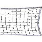 Lawei Sports - Rete da pallavolo per Scuola, Cortile, Spiaggia, 9,45 m x 0,9 m