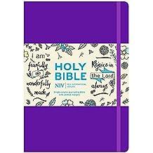 NIV Purple Single-Column Journalling Bible