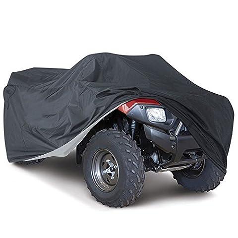 Housse de Protection Bâche pour ATV Quad Imperméable Étanche Anti-UV