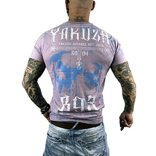 Yakuza Original Herren Dark Side T-Shirt Sea Fog