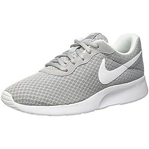 Nike Damen WMNS Tanjun Laufschuhe, Grau (Wolfgrau/Weiß), 35.5 EU