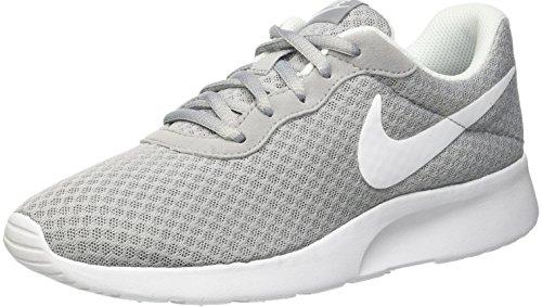 Nike Damen Wmns Tanjun Trainingsschuhe, Blau, Grau (Wolfgrau/Weiß), 40 EU/8.5 US (Nike-turnschuhe Für Frauen)