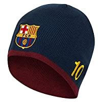 F.C. Barcelona Knitted Hat Messi Official Merchandise