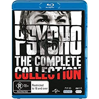 Psycho (Complete Collection) - 8-Disc Box Set ( Psycho (1960) / Psycho II / Psycho III / Psycho IV / Psycho (1998) / Bates Motel (1987) / The Psycho Legacy (201 [ Australische Import ] (Blu-Ray)