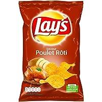 Lay's - Chips saveur poulet thym - Le paquet de 130g - Prix Unitaire - Livraison Gratuit Sous 3 Jours