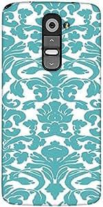 Snoogg Motif Print Designer Protective Back Case Cover For LG G2
