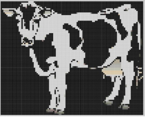 cow-3-cross-stitch-pattern-english-edition