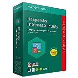ANTIVIRUS KASPERSKY INTERNET SECURITY 2018 - 1 LICENCIA / 1 AÑO ATTACHED - NO CD/FORMATO TARJETA -...