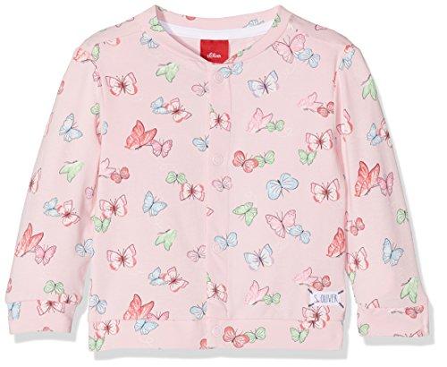 s.Oliver Baby-Mädchen Sweatjacke 59.806.43.4935, Pink (Light Pink Aop 41a2), 62