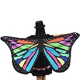 Accesorio de mariposa de tela para disfraz de Halloween, marca Cinnamon, para mujer (145 x 65cm). Multicolor Talla única