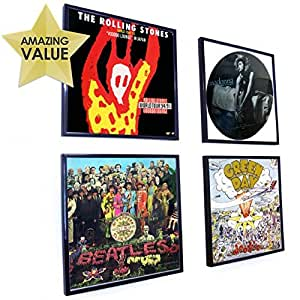 Retro Vinyl Lp Record Album Square Frame 30 Centimeter 12 Inch Cover Sleeve Wall Art Display