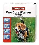 Beaphar - Pastilla desparasitadora de una sola dosis para perros medianos - Lote de 2 pastillas