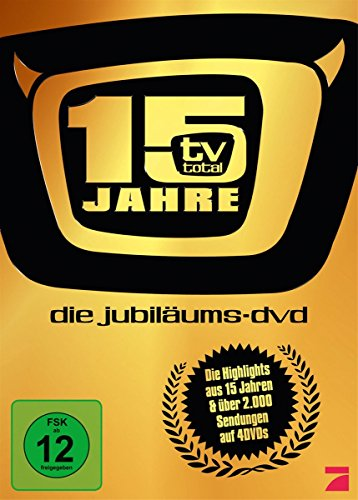 TV Total – 15 Jahre Jubiläums Box [4 DVDs]