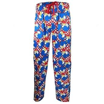 UWear - Bas de pyjama -  Homme rouge Rouge 8_uk