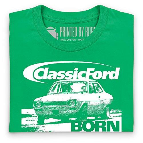 Classic Ford Born Slippy T-Shirt, Herren Keltisch-Grn ...
