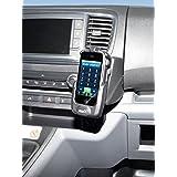 KUDA Telefonkonsole LHD für Citroën Jumpy/Peugeot Expert/Toyota ProAce ab 2016 Echtleder Schwarz