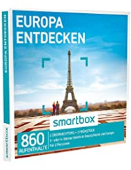 SMARTBOX - Geschenkbox - EUROPA ENTDECKEN - 860 Aufenthalte: 1 Übernachtung mit Frühstück in 3* oder 4* Hotels