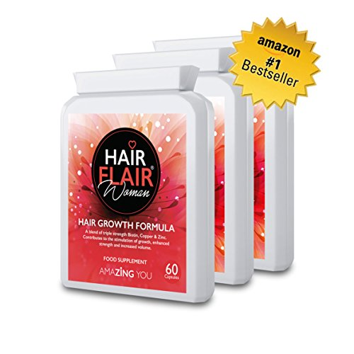 Zing pelo Flair® para las mujeres (Triple Pack)-# 1más vendido extrema pelo suplementos de vitalidad para mujeres con nuestra propia especial formulación para Amazing pelo. Envío gratuito.
