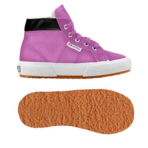 Superga - 2204 - Suej, Pantofole a Stivaletto Unisex – Bambini PINK SOFT LILLA