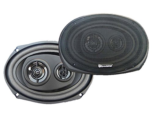 RoadstarLautsprecher, oval, für das Auto, 3Kanäle, 120W