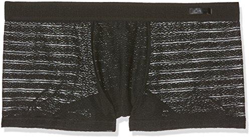 HOM Herren Boxershorts Beaux Arts Trunk, Noir (Noir), M (Männer Boxer Mitte Taille)