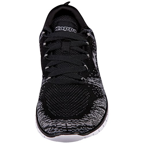 Kappa Caria, Baskets Basses Mixte Adulte Noir - Schwarz (1113 BLACK/ANTHRA)