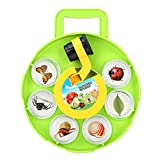 Insetto Cattura Viewer, Bug Osservazione Magnifier Container Capture Box Exploration Toy for Children