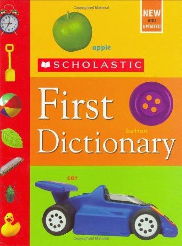 Scholastic First Dictionary por Levey Judith