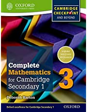 Complete Mathematics for Cambridge Secondary 1 Student Book 3: Comprehensive Preparation for the Cambridge Checkpoint and Beyond