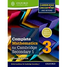 Complete Mathematics for Cambridge Lower Secondary Student Book 3: For Cambridge Checkpoint and beyond (Complete Mathematics for Cambridge Secondary 1)
