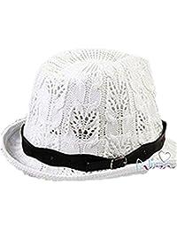 SMO cap Corée du chaud nouvelle chapeau chapeau de jazz de paille unisexe (604) (beige)