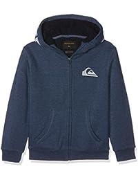 Quiksilver Best Wave Sherpa Sweat-Shirt à Capuche Garçon