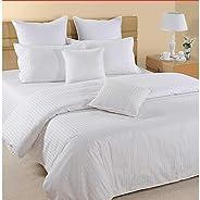 Hotel Duvet Cover, Linen, King Size, White, 245 x 265 cm