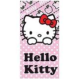 Hello Kitty Childs Beach / Swim Towel Apples Design