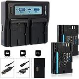 Blumax Set professionnel pour Canon LP E6N 2040mAh 60366
