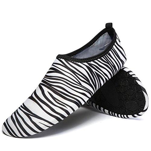 Rawdah Swim Surf Yoga Skin Sports Shoes Donne Uomini Calzini da Acqua Quick-Dry Swim Surf Yoga Skin Sport Scarpe Nero