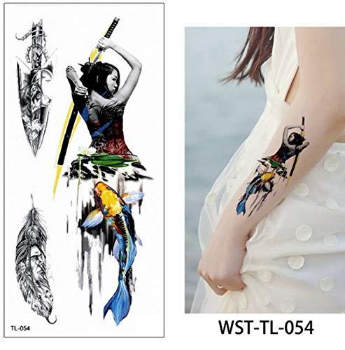 Tatuaggio falso aquila impermeabile temporaneo tatoo ali rimozione tatuaggi tatoo animali tatuaggio impermeabile indietro body art tatuaggi 9x19cm