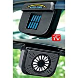 #5: Flipco Solar Powered Air Vent Cool Cooler Fan With Rubber Stripping New Car Auto Truck